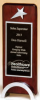 "OCT1584 - 3 1/2"" x 9"" Rosewood piano-finish award"