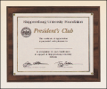 "10 1/2"" X 13"" Photo or Certificate plaque"