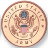 "Army 2"" Embossed Litho"