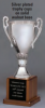 "OCT346C - 11-3/4"" Silver Plated Trophy Cup"
