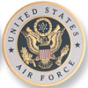 "Air Force 2"" Embossed Litho"