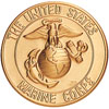 "Marine Corps 2"" Stamped"