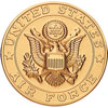 "Air Force 2"" Stamped Medallion"