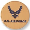 "Air Force 2"" Etched Enameled"