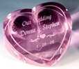 OCPRC8104 - Pink Optical Crystal Forget-Me-Not